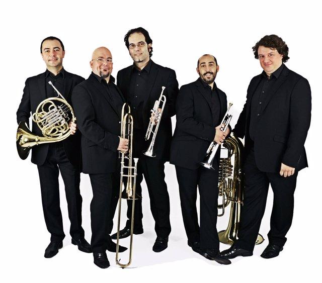 El Quinteto de viento valenciano Spanish Brass Luur Metalls