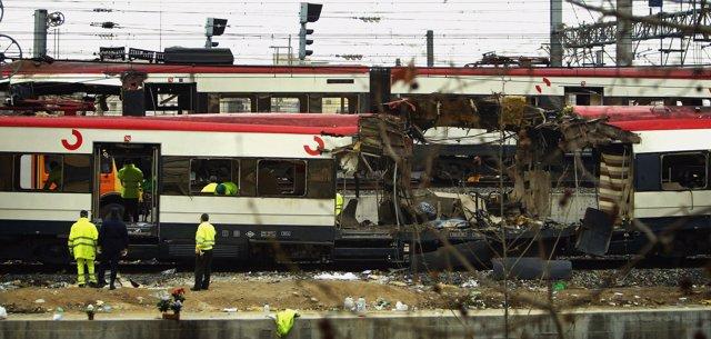 Atentados contra los trenes de cercanías en Madrid el 11 de marzo de 2004