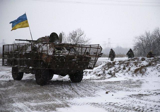 Fuerzas armadas de Ucrania en Kiev