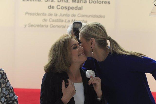 María Dolores de Cospedal y Cristina Cifuentes
