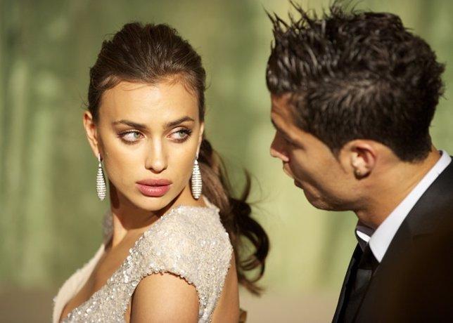 Model Irina Shayk And Real Madrid Player Cristiano
