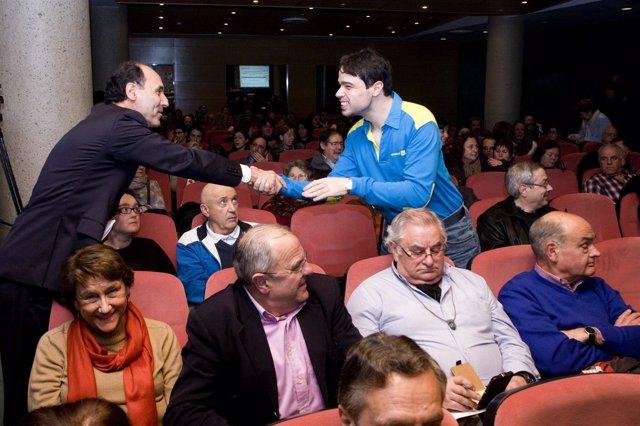 Encuentro de Ignacio Diego con CERMI