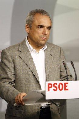 Luz Rodríguez y Rafa Simancas PSOE
