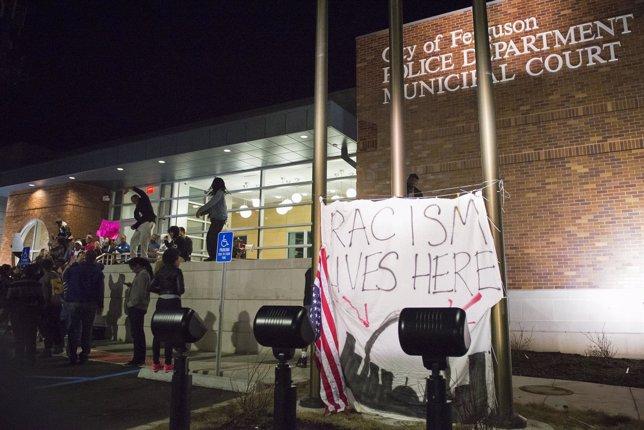 Protestas en Ferguson