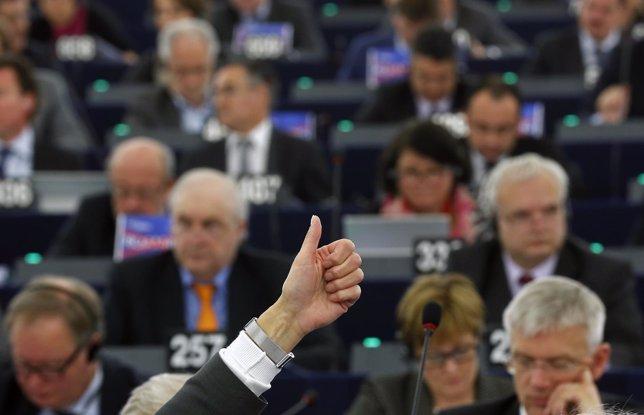 Voto en el Parlamento Europeo