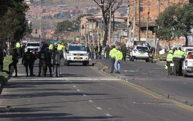 Bomba en Bogotá