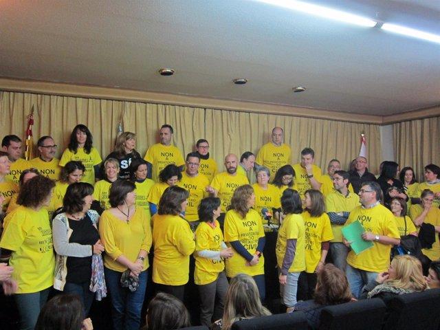 """Vigo llama a """"dar el do de pecho"""" contra la privatización del registro civil"""