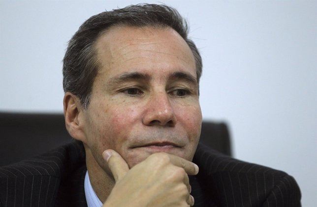 Argentine prosecutor Alberto Nisman attends a meeting with journalists in Buenos