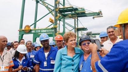 """Dilma Rousseff: """"Agotamos todos los recursos para combatir la crisis"""""""