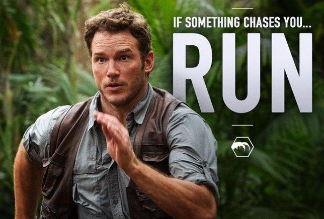 Jurassic World, nuevas imágenes con Chris Pratt y Bryce Dallas Howard
