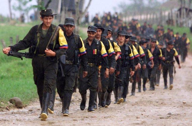 Columna guerrillera de las FARC