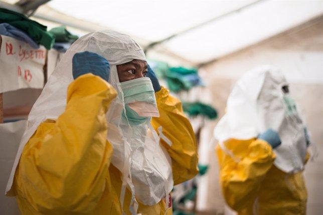 Centro de tratamiento contra el ébola de MSF en Ecuador (RDC)
