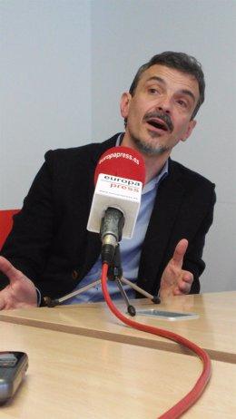José Manuel López, candidato de Podemos a la Comunidad de Madrid