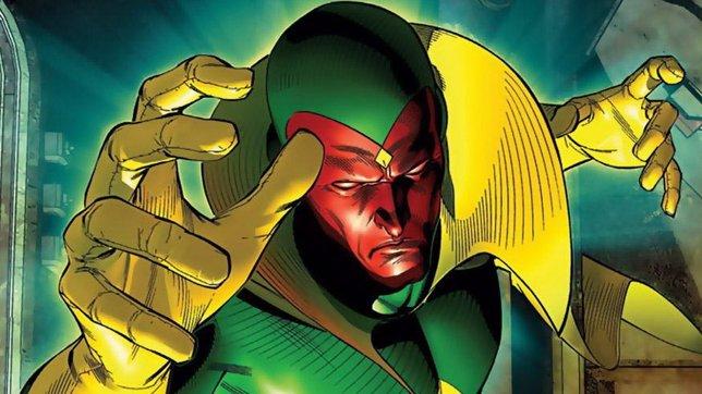 Visión en los cómics de Los Vengadores
