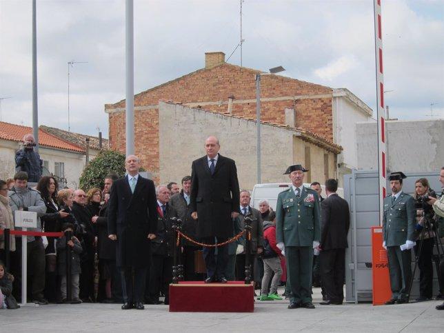 Inauguración del Cuartel de la Guardia Civil en Fitero.