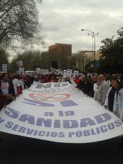 """La Marea Blanca protesta contra el """"deterioro programado de la Atención Primaria"""""""