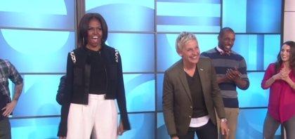 VÍDEO: Michelle Obama baila en el programa de Ellen DeGeneres