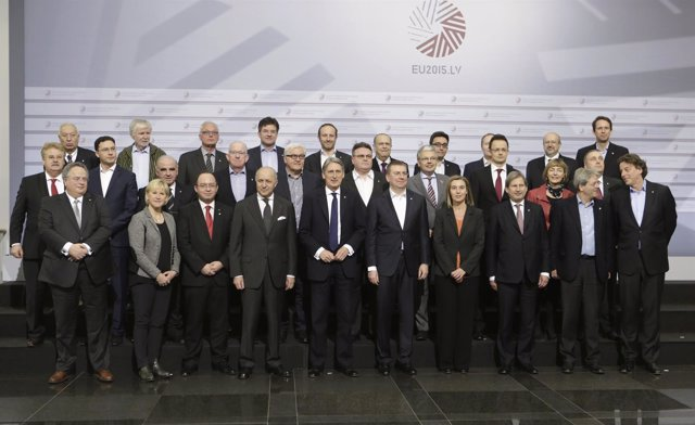 Ministros de Exteriores de la Unión Europea