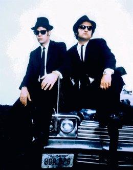 Dan Aykroyd y John Belushi en 1980