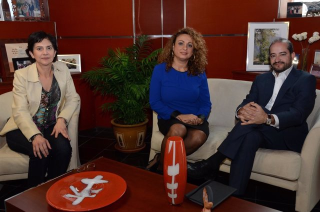 Reunión con la asociación de transparencia