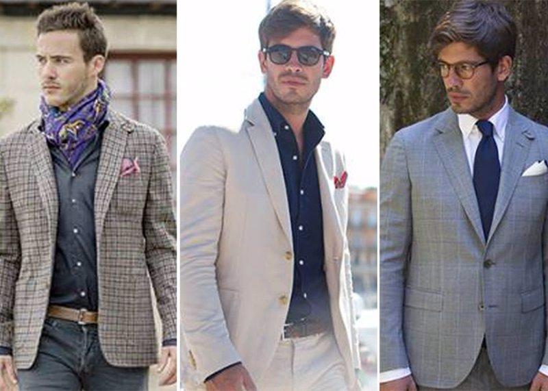 3ed309e2d4144 Moda Hombre  Claves de como vestir con traje con look informal y fresco