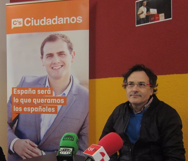 El director de campaña de C's, Miguel Ángel González