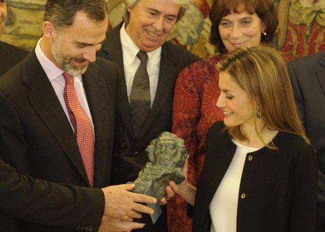 El rey Felipe VI y la reina Doña Letizia.