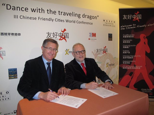 Adhesión de la ciudad de Teruel a Chinese Friendly International