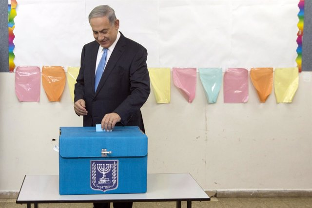 Netanyahu vota