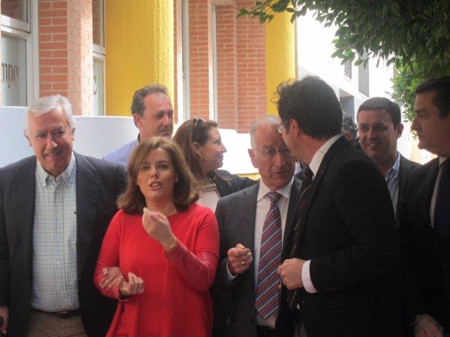 Arenas, junto a Santamaria, llega al Círculo Cultural de El Ejido