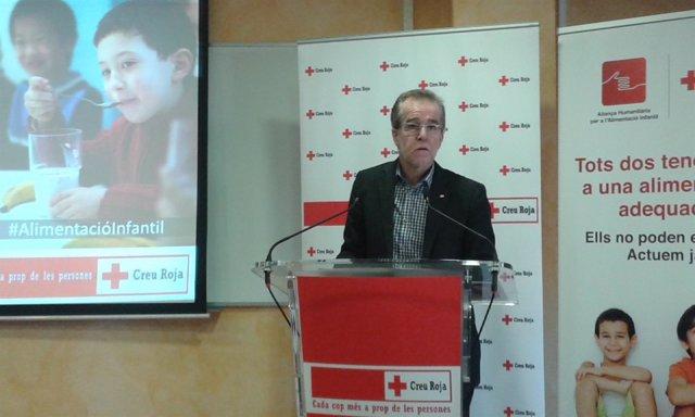 El presidente de Creu Roja, Josep Marquès