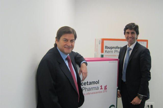 Raúl Díaz-Varela y Manuel Garrido, Kern Pharma