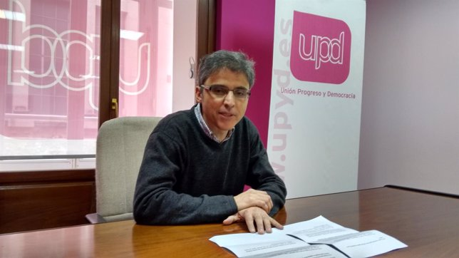 Jose Ángel Argüeso, candidato de UPyD en Logroño