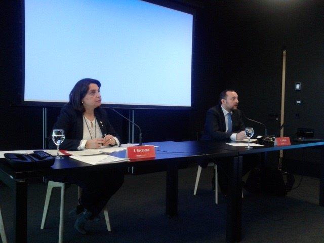 Sònia Recasens y Jordi Lahora (AMB)