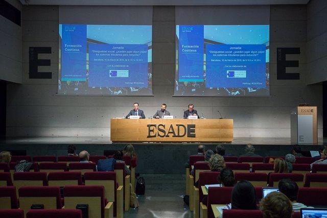 Jornada sobre desigualdad social organizada por ESADE Law School