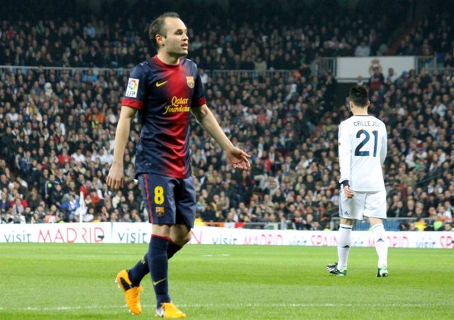 Andrés Iniesta Real Madrid FC Barcelona