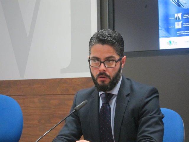 Concejal de Seguridad Ciudadana del Ayuntamiento de Oviedo, Gerardo Antuña