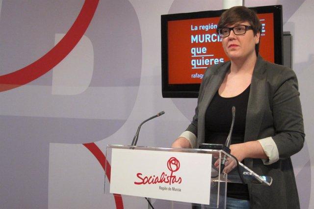 La secretaria de Organización del PSRM, Presen López