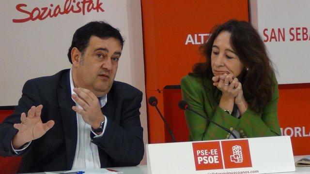 Ernesto Gasco y Marisol Garmendia