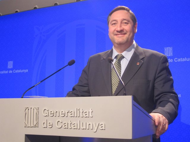 El conseller J.M.Pelegrí