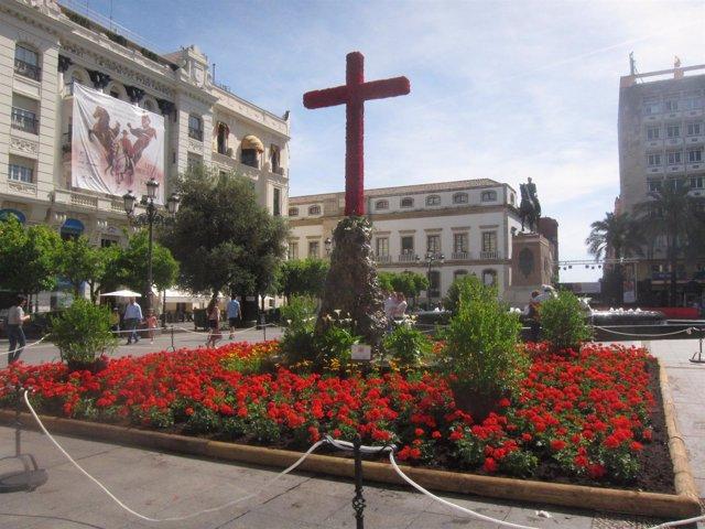 Cruz de Mayo del Ayuntamiento de Córdoba