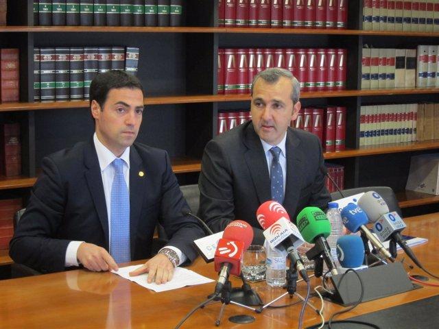 Imanol Pradales e Iñaki Garcinuño