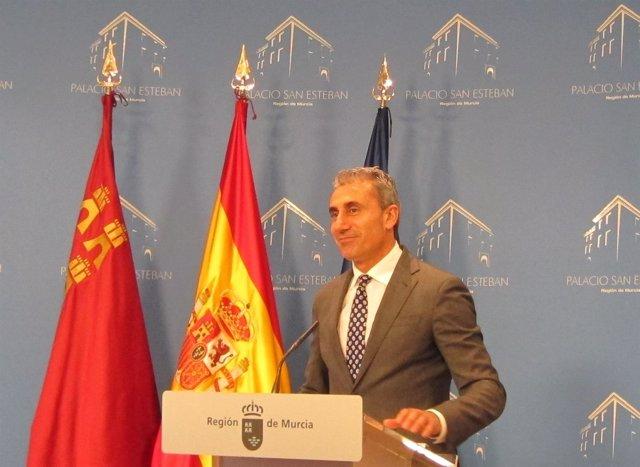 El alcalde de Beniel, Roberto García