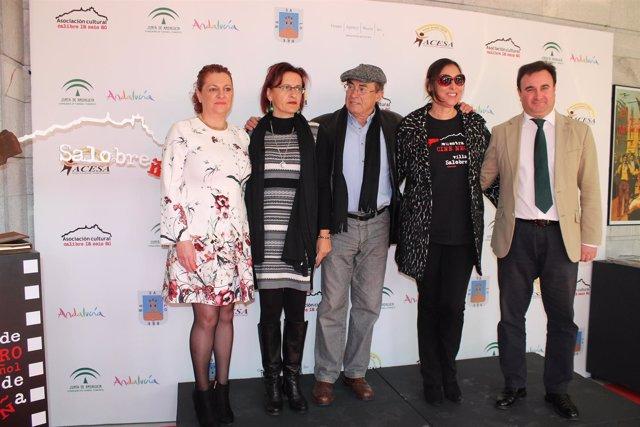 María Barranco en inauguración IV Muestra de Cine Negro de Salobreña