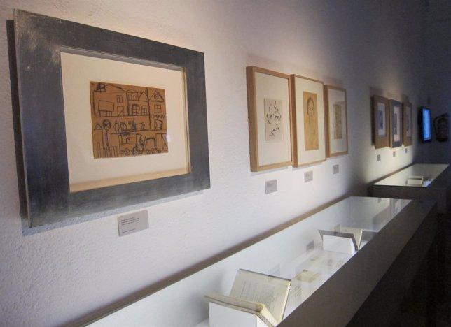 Algunas de las obras en la muestra