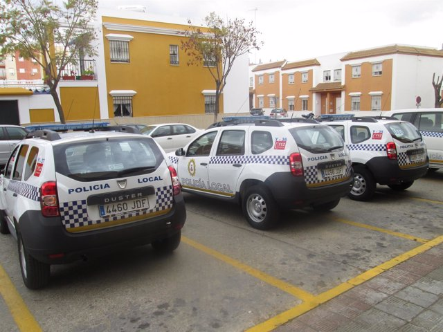 Nuevos coches patrulla de Dos Hermanas.