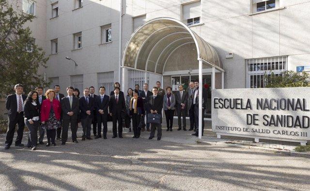 Delegación de Japón visita el Instituto de Salud Carlos III