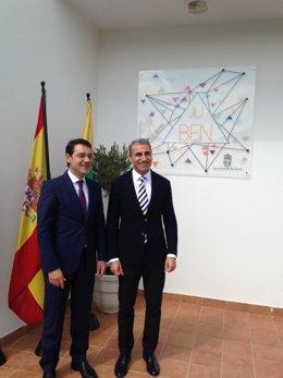 Jose Gabriel Ruiz y Riberto García inauguran Juben