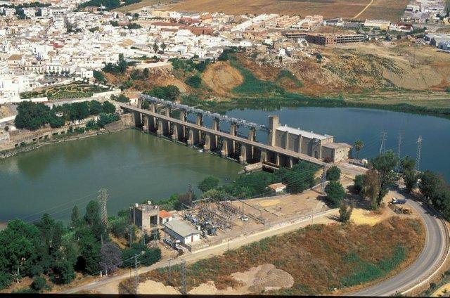 Central hidráulica de Endesa en Sevilla.