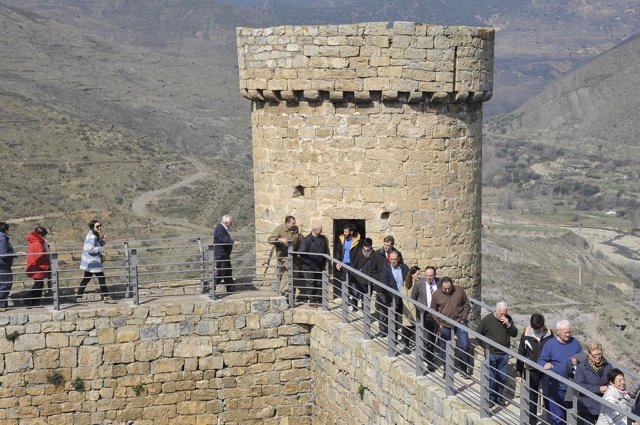 Visita Castillo Cornago con Sanz
